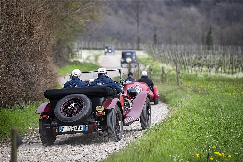 The #FranciacortaHistoric2019 starts with 117 cars!