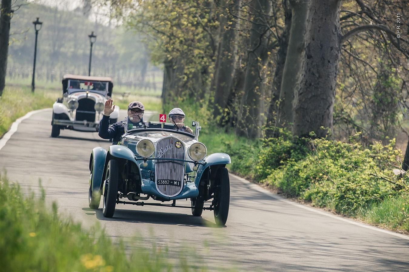 Belometti-Passi su Fiat Siata 508 S del 1932 vincono l'8ª edizione baciata dal sole