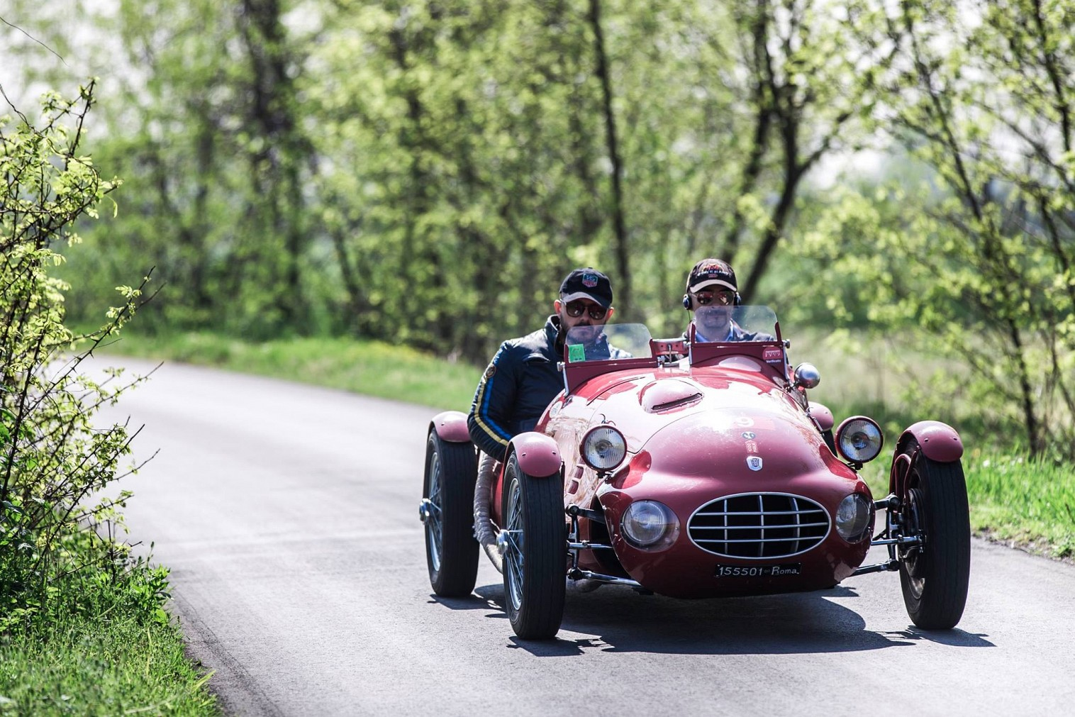 Bellini-Tiberti second time in a row winners of the 10th Franciacorta Historic