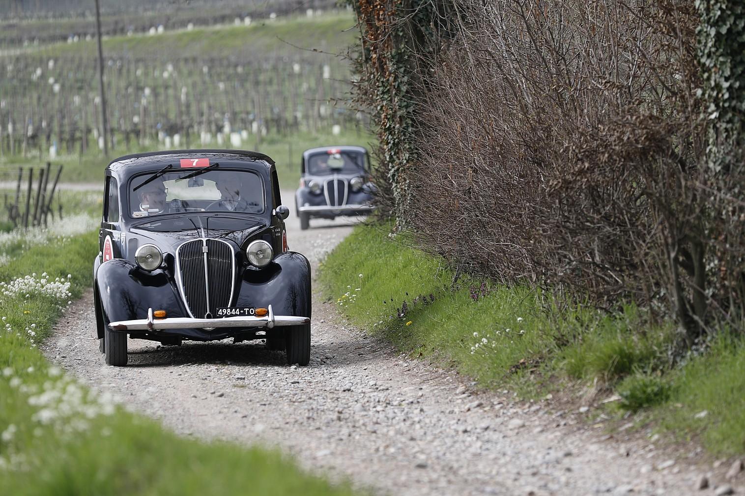 Bellini-Tiberti inarrestabili: terza vittoria consecutiva al Franciacorta Historic!